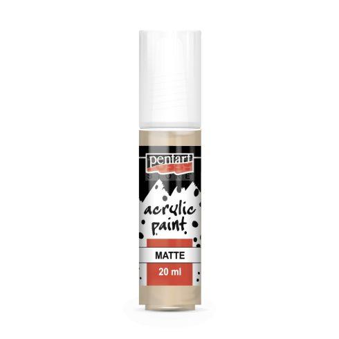 Pentart Matt púderszín színű akril bázisú hobbi festék 20 ml 13126