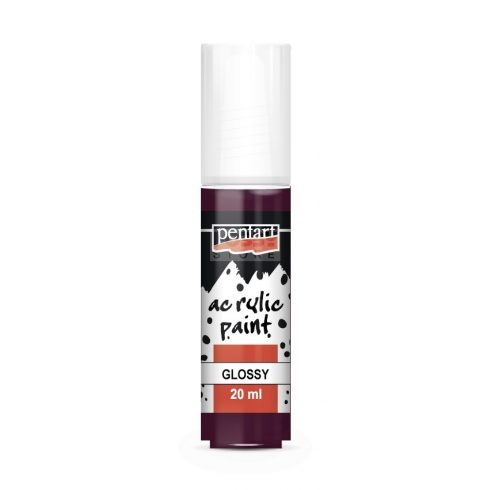 Pentart Fényes padlizsán színű akril bázisú hobbi festék 20 ml