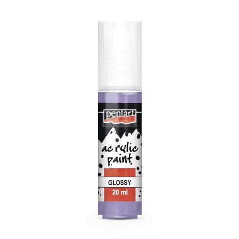 Pentart Fényes ametiszt színű akril bázisú hobbi festék 20 ml