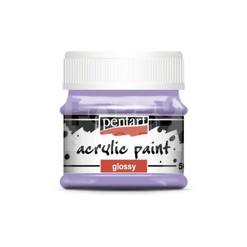 Pentart Fényes ametiszt színű akril bázisú hobbi festék 50 ml