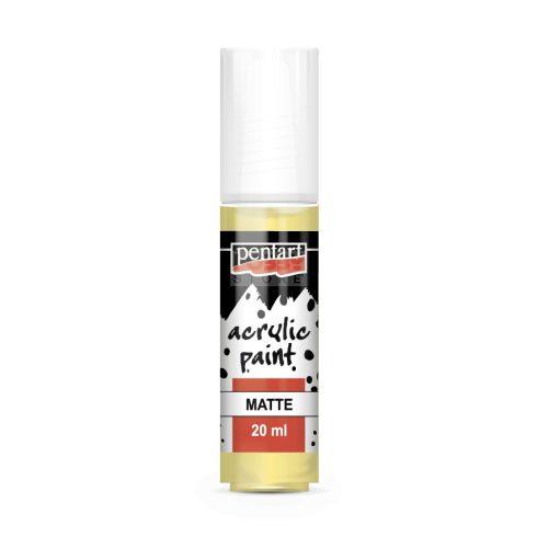 Pentart Matt vanília színű akril bázisú hobbi festék 20 ml 14097