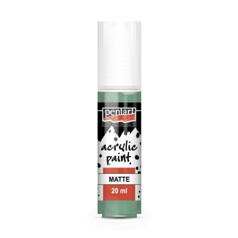 Pentart Matt pisztácia színű akril bázisú hobbi festék 20 ml 14099