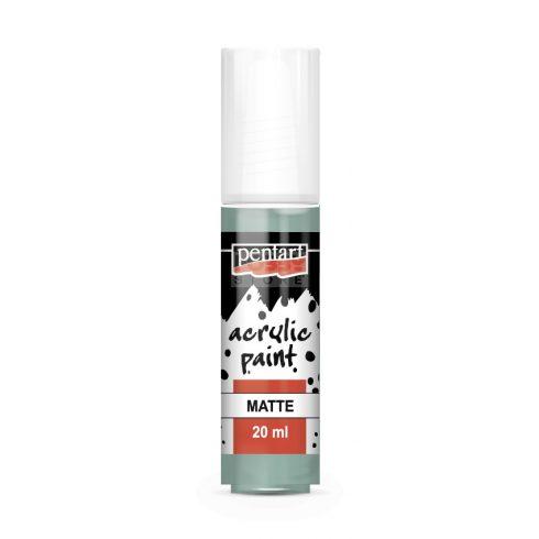 Pentart Matt menta színű akril bázisú hobbi festék 20 ml 14100