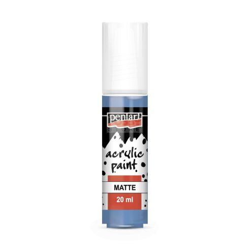 Pentart Matt áfonya színű akril bázisú hobbi festék 20 ml 14101