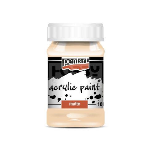 Pentart Matt púderszín színű akril bázisú hobbi festék 100 ml 14271