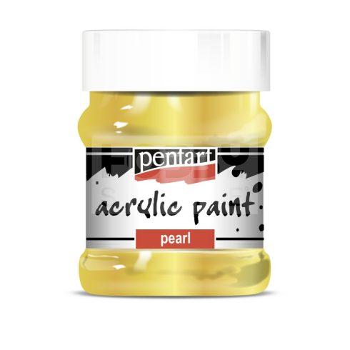 Pentart Metál barokkarany színű akril bázisú hobbi festék 230 ml