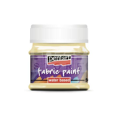 Pentart Textilfesték vanília 50 ml 16401