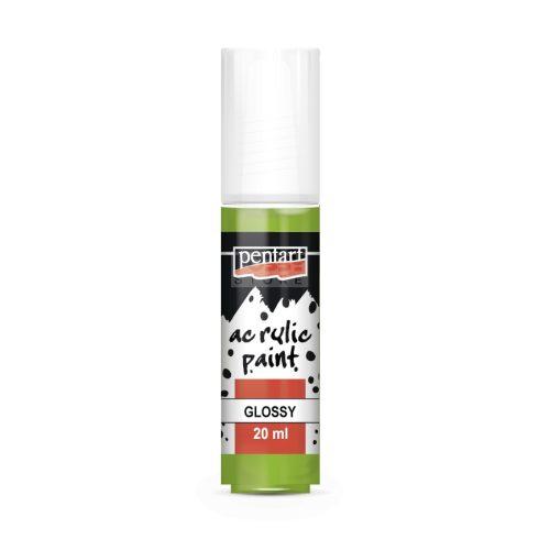 Pentart Fényes almazöld színű akril bázisú hobbi festék 20 ml