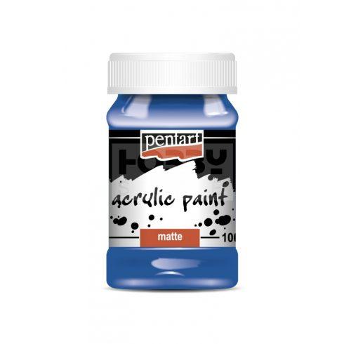 Pentart Matt kék színű akril bázisú hobbi festék 100 ml 2003