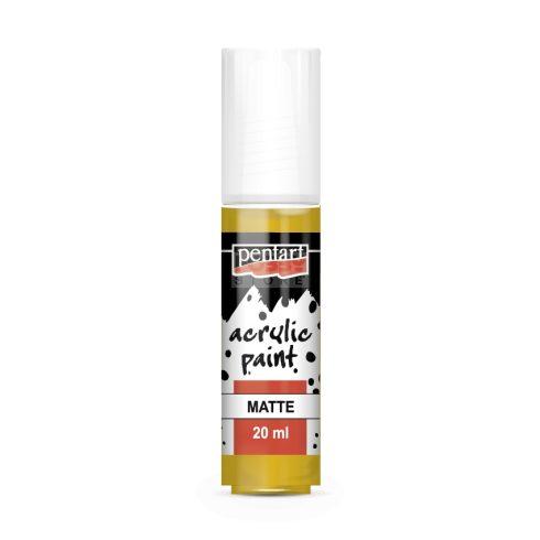 Pentart Matt mandarin színű akril bázisú hobbi festék 20 ml 20966
