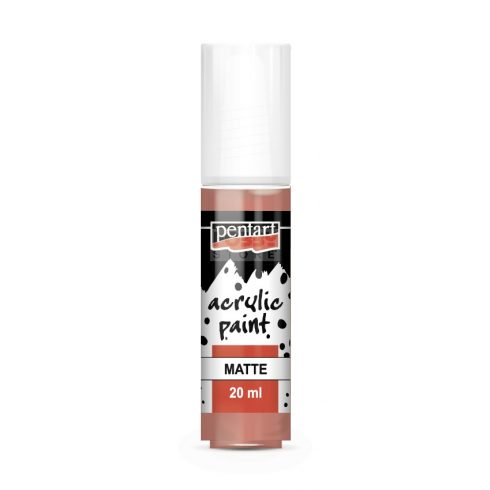 Pentart Matt korall színű akril bázisú hobbi festék 20 ml 20967