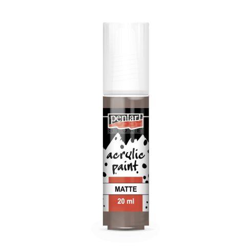Pentart Matt vintage barna színű akril bázisú hobbi festék 20 ml 20969