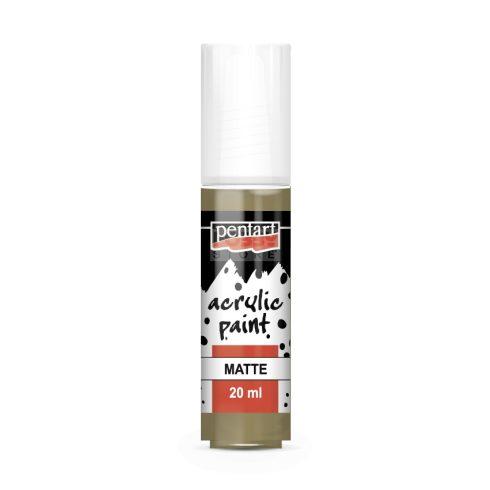 Pentart Matt sólyombarna színű akril bázisú hobbi festék 20 ml 20971