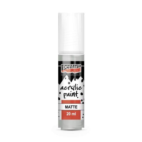 Pentart Matt vintage szürke színű akril bázisú hobbi festék 20 ml 20974