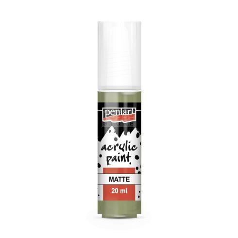 Pentart Matt tövis színű akril bázisú hobbi festék 20 ml 20980