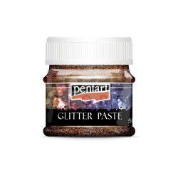 Pentart Glitterpaszta finom lézerréz 50 ml 21084