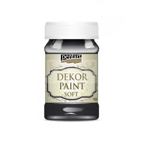 Pentart Dekorfesték lágy (chalky) fekete 100 ml 21481