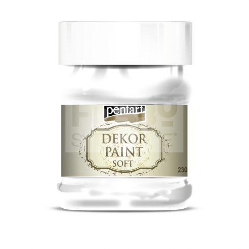 Pentart Dekorfesték lágy (chalky) fehér 230 ml 21482