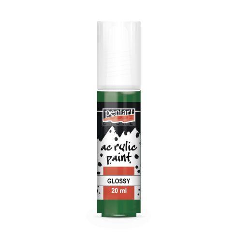 Pentart Fényes fenyőzöld színű akril bázisú hobbi festék 20 ml