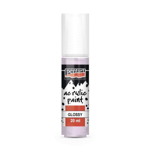 Pentart Fényes pasztelibolya színű akril bázisú hobbi festék 20 ml