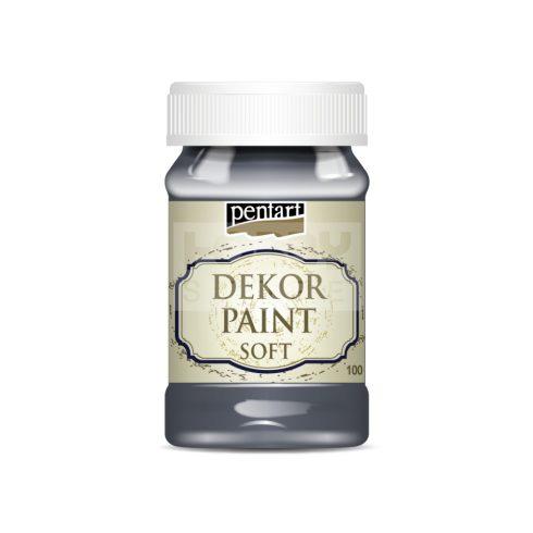 Pentart Dekorfesték lágy (chalky) grafitszürke 100 ml 21641