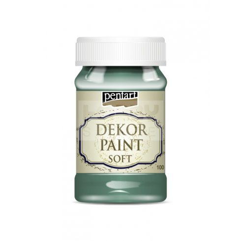 Pentart Dekorfesték lágy (chalky) türkizzöld 100 ml 21643