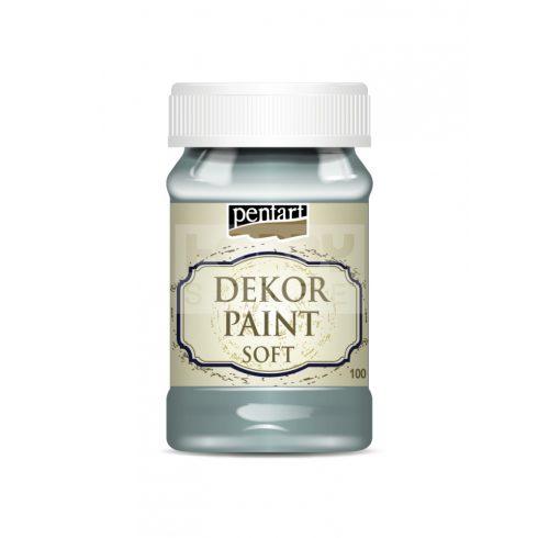 Pentart Dekorfesték lágy (chalky) country-kék 100 ml 21645