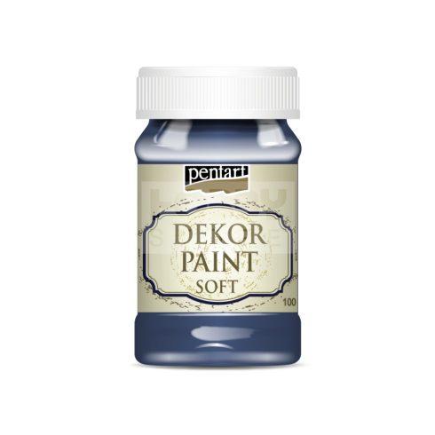 Pentart Dekorfesték lágy (chalky) farmerkék 100 ml 21647