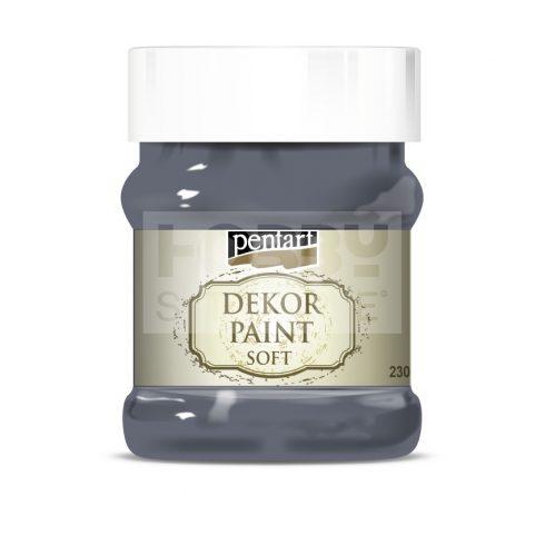 Pentart Dekorfesték lágy (chalky) grafitszürke 230 ml 21663