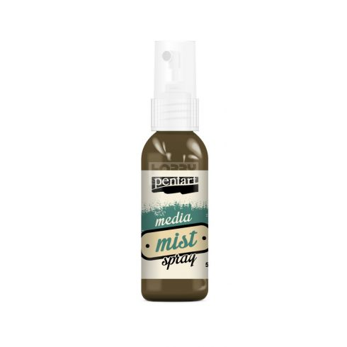 Pentart Média permetfesték spray tejeskávé 50 ml 22608
