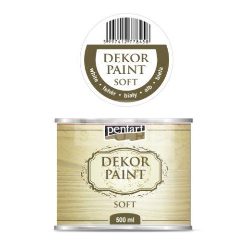 Pentart Dekorfesték lágy (chalky) fehér 500 ml 22717