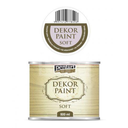 Pentart Dekorfesték lágy (chalky) Viktoriánus rózsaszín 500 ml 22721