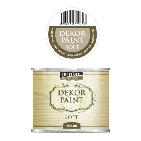 Pentart Dekorfesték lágy (chalky) cappuccino 500 ml 22728
