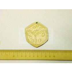 Pentart Fafigura, 5 db/csomag - dobókocka 22953