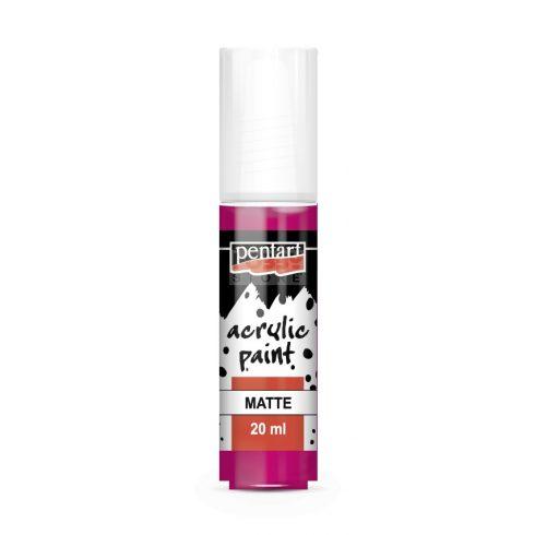 Pentart Matt magenta színű akril bázisú hobbi festék 20 ml 2348
