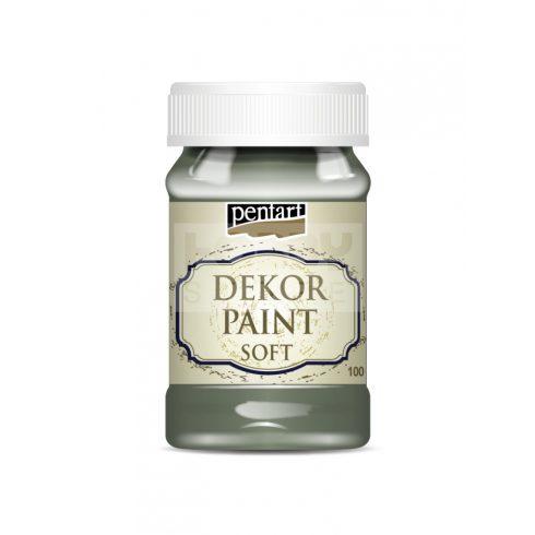 Pentart Dekorfesték lágy (chalky) kekizöld 100 ml 25225
