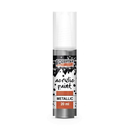 Pentart Metál grafit színű akril bázisú hobbi festék 20 ml