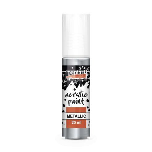 Pentart Metál ólom színű akril bázisú hobbi festék 20 ml
