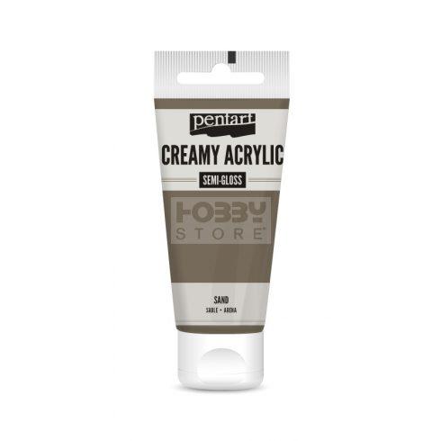 Pentart selyemfényű homok színű akril bázisú krémes hobbi festék 60 ml