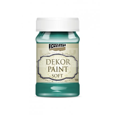 Pentart Dekorfesték lágy (chalky) borókazöld 100 ml 29339