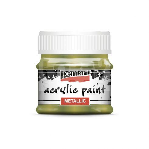 Pentart Metál golden touch színű akril bázisú hobbi festék 50 ml