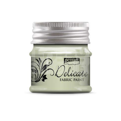 Pentart Delicate textilfesték fehérarany 50 ml 33422