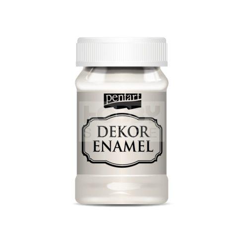 Pentart Dekor Zománcfesték (Dekor Enamel) krémfehér 100 ml 34120