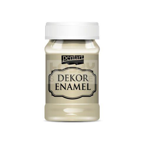 Pentart Dekor Zománcfesték (Dekor Enamel) bézs 100 ml 34122
