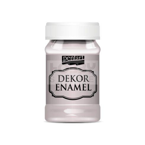 Pentart Dekor Zománcfesték (Dekor Enamel) Viktóriánus rózsaszín 100 ml 34130
