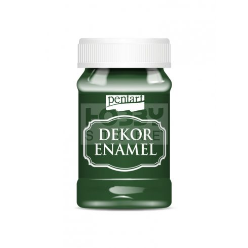 Pentart Dekor Zománcfesték (Dekor Enamel) zöld 100 ml 34131