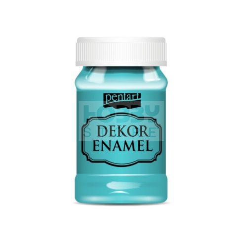 Pentart Dekor Zománcfesték (Dekor Enamel) türkizkék 100 ml 34132