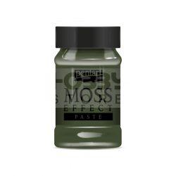 Pentart Moha hatás paszta (Moss & Grass Effect Paste) - sötétzöld 34741