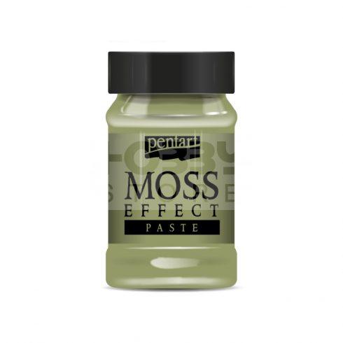 Pentart Moha hatás paszta (Moss & Grass Effect Paste) - világoszöld 34742