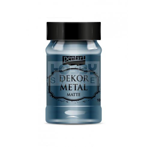 Pentart Dekormetál matt festék Oxford kék 100 ml 35205